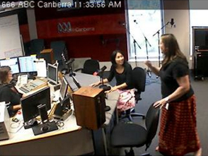 Today I had my first radio interview… I was interviewed by Alex Sloan this morning on 666 ABC Canberra Radio about my project at work called Sharing young women's stories,a campaign to fight negative Body Image (totally my line btw). I've been the sole coordinator for this entire project from design through to execution. I worked on it one day a week from September then two days since January. Not a lot of time I know. But I have the official launch tomorrow, hence the interview. I received the call yesterday on my afternoon off asking if I wanted to have a radio interview. Now I've never been on radio, or interviewed at all so I got very excited! Last night I talked to my sister, emailed a friend in the media, got tips from my bro in law who does interviews and run through lines with hubby. I practiced just a few lines and went over what I could say (not very hard mind you). But see, this project has been consuming every aspect of my life non stop for like the past six weeks (if not more) and I haven't thought of anything else, so I was feeling pretty okay. Then this morning, I got way nervous. I decided to take a break and go out to a cafe and eat a late breakfast (9:30). I called my mum and she distracted me very well, without intending too I'm sure. Then at 10:58 (when my parking ran out) I drove to the ABC studio. It was soo cool! Then I got star struck because the Sapphires, including Casey Donovan were singing live in the studio, the same place where I was going to be! When it was my turn, I thought I was going get a bit of a rundown, but we went straight to it. I believe I spoke steadily and not so breathy. I'm going to wait awhile before I actually listen to is because my accent sounds way weird and I fumbled a lot. Apparently I didn't sound nervous so that's good. Any promotion is good promotion yeah? Plus Alex was very sweet and she did a lovely job not freaking me out! The whole experience is quite exciting. I'm not saying I'm going to raise my hand for 