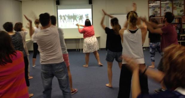 One Billion Rising Dance Rehearsal