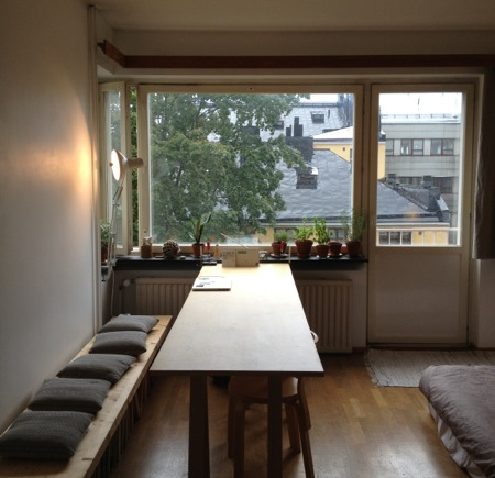 Day Thirteen: Home - I love staying in Airbnb places, they always feel so cosy :) Ratakatu, Helsinki, Finland